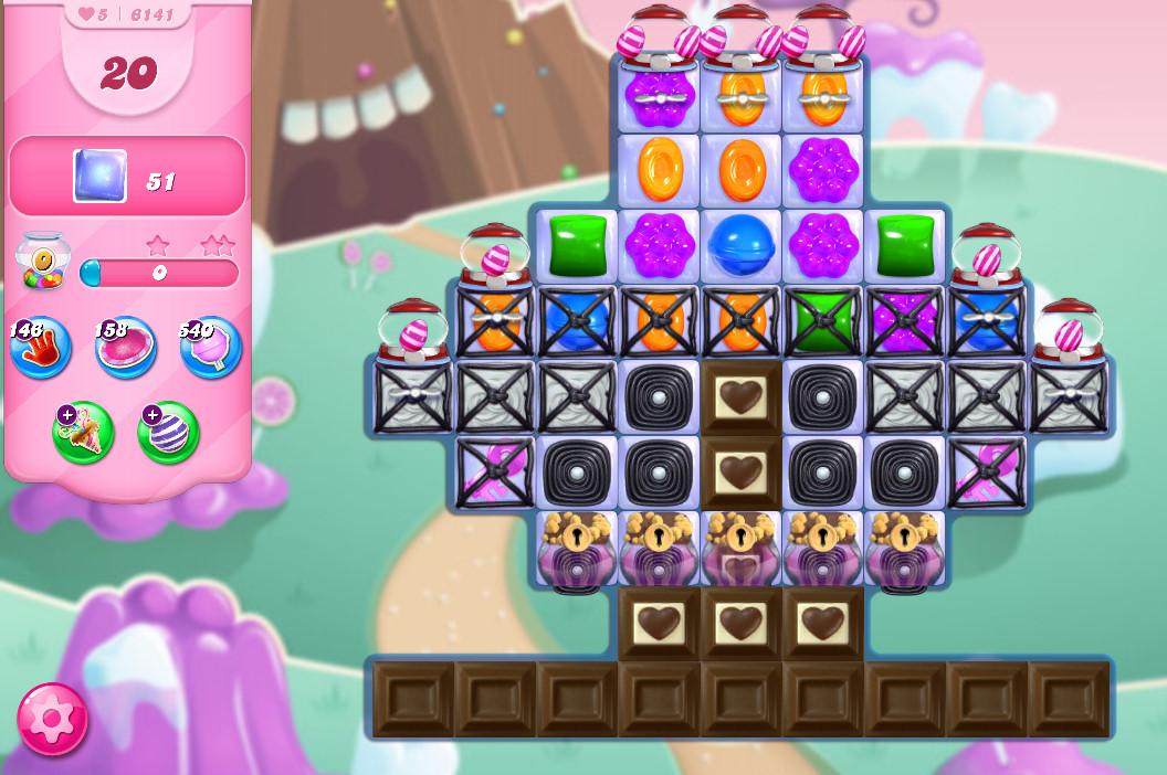 Candy Crush Saga level 6141