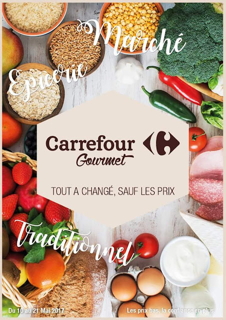 catalogue carrefour gourmet mai ramadan 2017