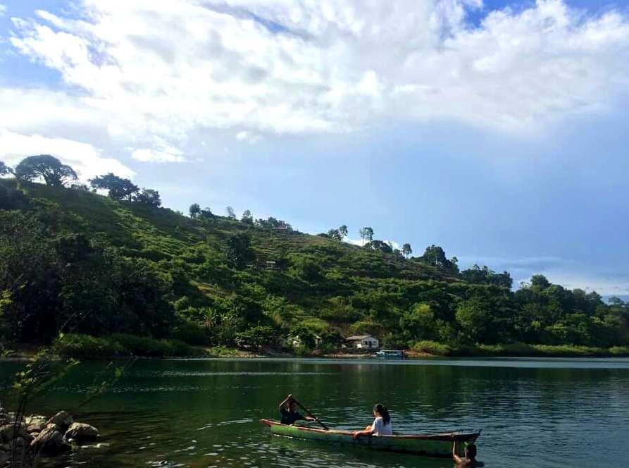 Yang Menggoda Pulau Sibandang Di Danau Toba Pariwisata Sumut