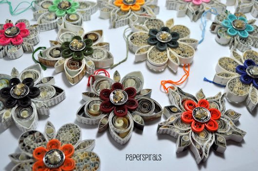 Paper Spirals: Good Luck Charms for the New Year