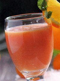 Jus buah pepaya jeruk penambah darah