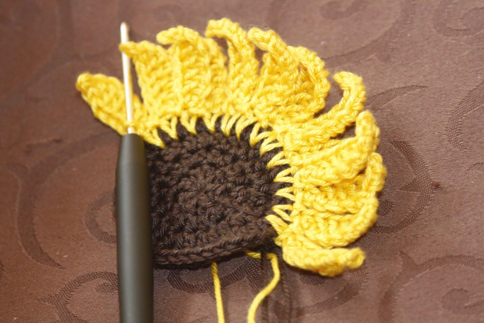 Sonnenblume Häkeln My Blog