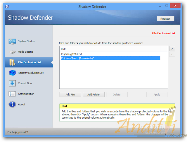 Download Shadow Defender Terbaru v 1.4.0.668-anditii.web.id