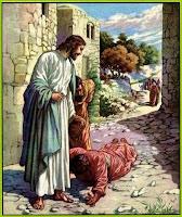 Resultado de imagen para En aquel tiempo, se acercó a Jesús un leproso, suplicándole de rodillas: «Si quieres, puedes limpiarme.»