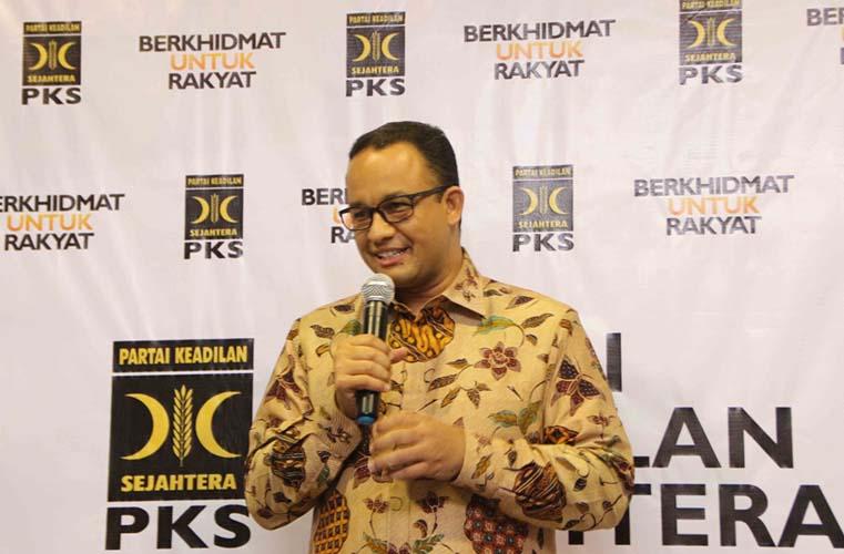 Anies Baswedan di PKS