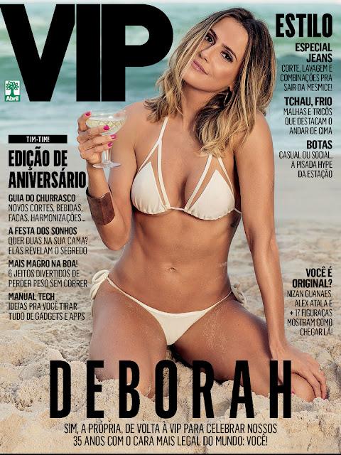 Deborah Secco - Vip Brasil, June 2016