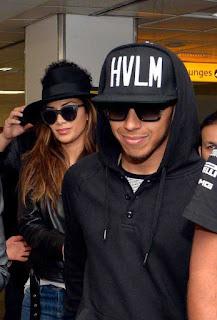 Lewis Hamilton missing ex girlfriend Nicole Scherzinger