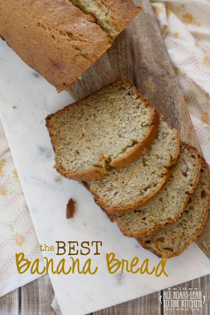 The BEST Banana Bread