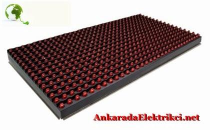 Kırmızı Led Panel, Kırmızı Led Tabela