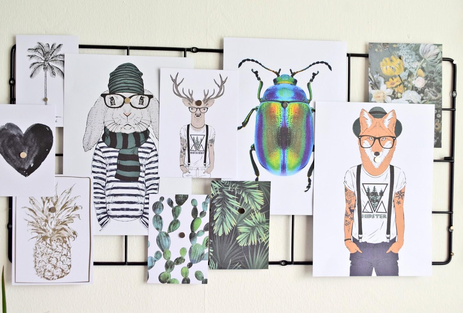 Ilustracje na ścianie