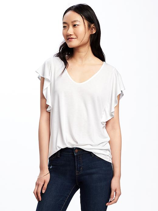 t-shirt blanc Old Navy