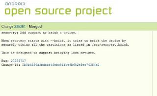 nuevo programa  para el bloque permanente en android.