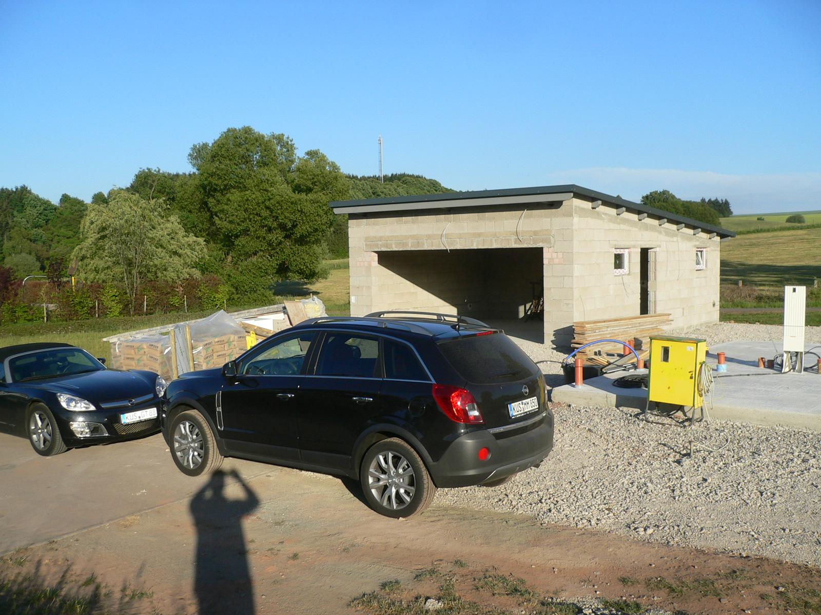 Garage Sandwichplatten hochwertige doppelgarage isolierte