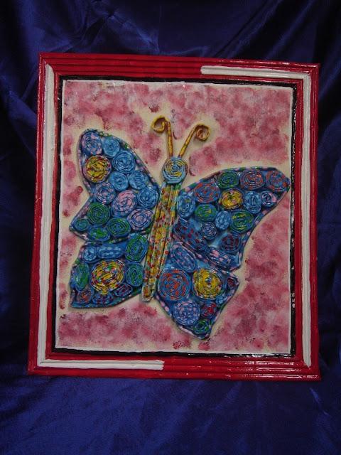 Lukisan Dari Bubur Kertas : lukisan, bubur, kertas, Bingkai, Bubur, Kertas, Koran