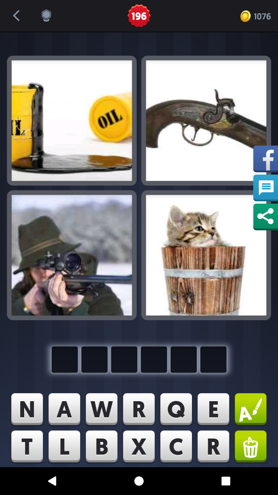 4 Pics 1 Word Answers Solutions Level 197 Barrel