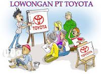 Lowongan Kerja PT.Toyota Motor Mfg Indonesia (TMMIN) Tingkat SMA/SMK Plant Karawang