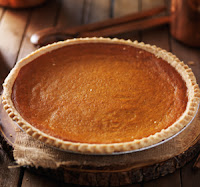 image of a yummy pumpkin pie