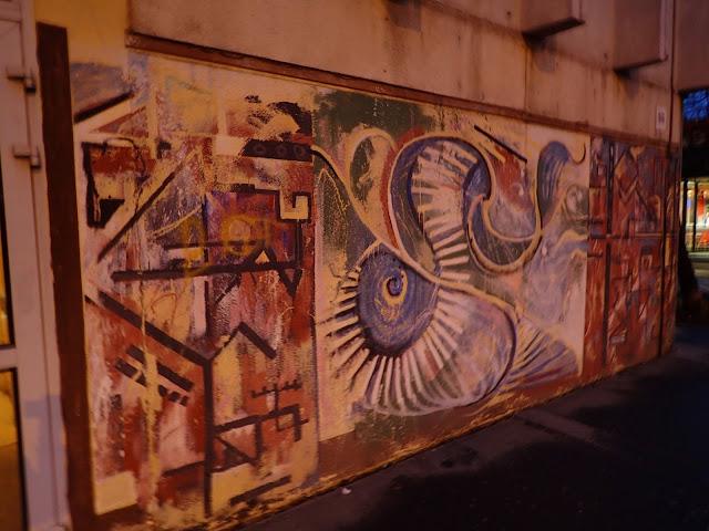 Mural w węgierskiej stolicy