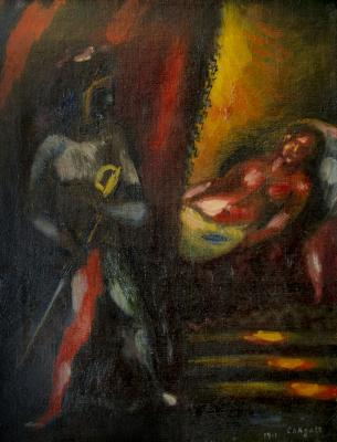 brand new 4d16f fb3d3 An oil painting by Marc Chagall stolen from a New York City apartment has  been recovered by the FBI and is expected to fetch several hundred thousand  ...