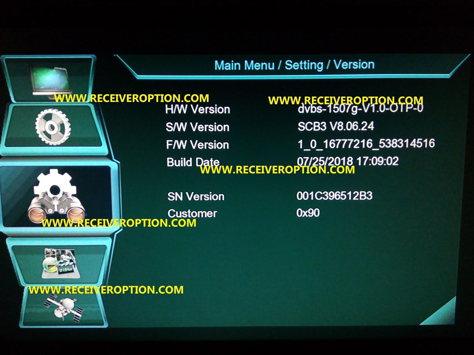OPENBOX GENIUS HEVC HD RECEIVER AUTO ROLL POWERVU KEY FIX