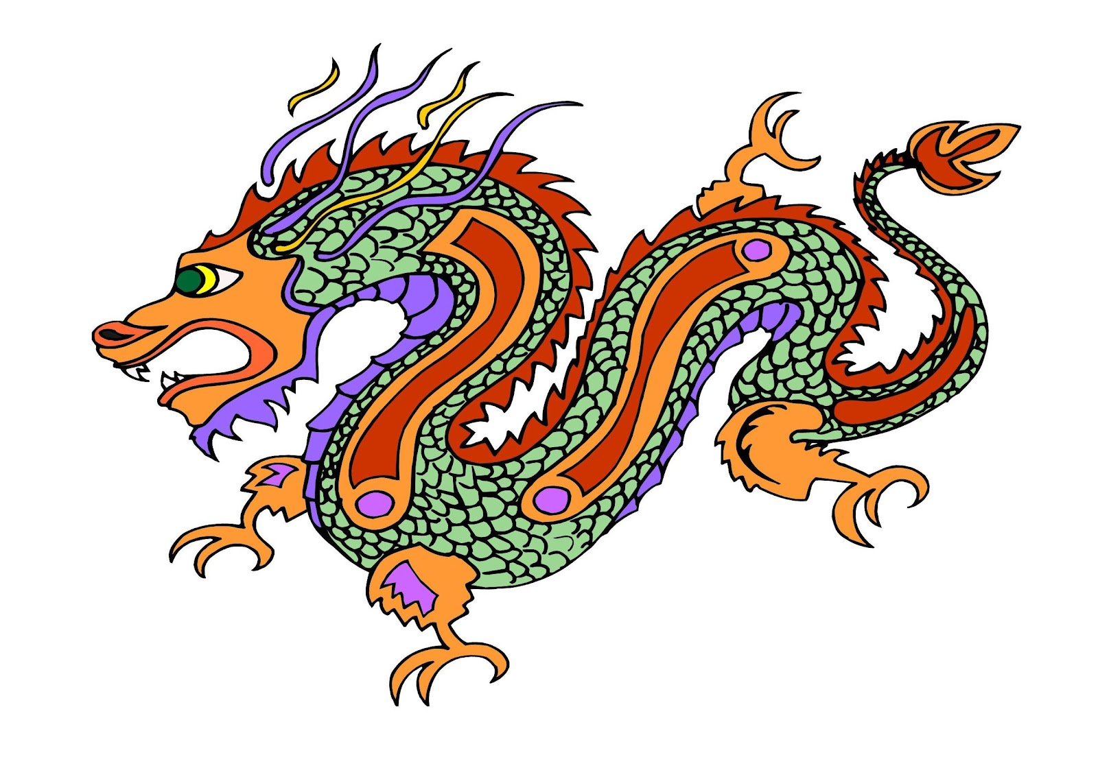Year of the Dragon  one of the most favorable for business . 1600 x 1117.Chinese New Year Card Template Word