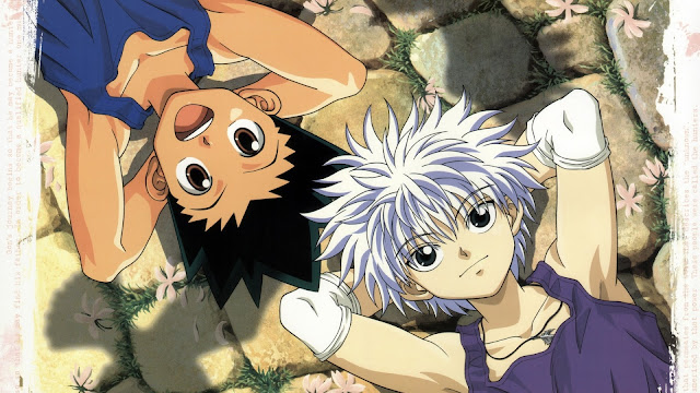 wallpaper hunter x hunter gon & Killua (1999)