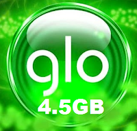 GLO 4.5GB Data Plan for N2500