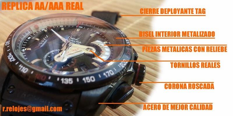 12da3153eff  VENDO  Replicas AA y AAA de R-E-A-L-E-S Relojes