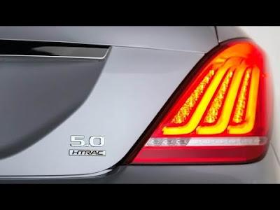 New 2017 Genesis G90 taillight image