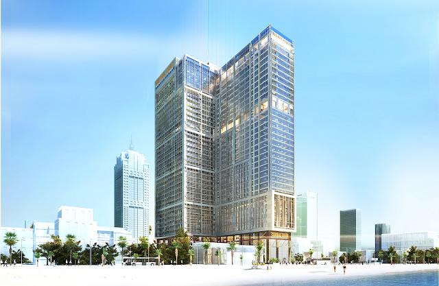 Phối cảnh tổng thể dự án Central Coast Đà Nẵng