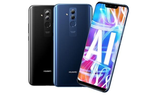 Le Huawei Mate 20 Lite...