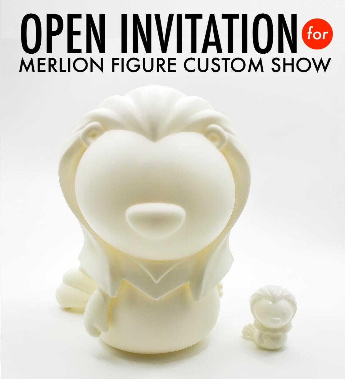 Open invitation for merlion figure custom show stopboris Image collections