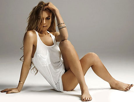 Lindsay Lohan Feet