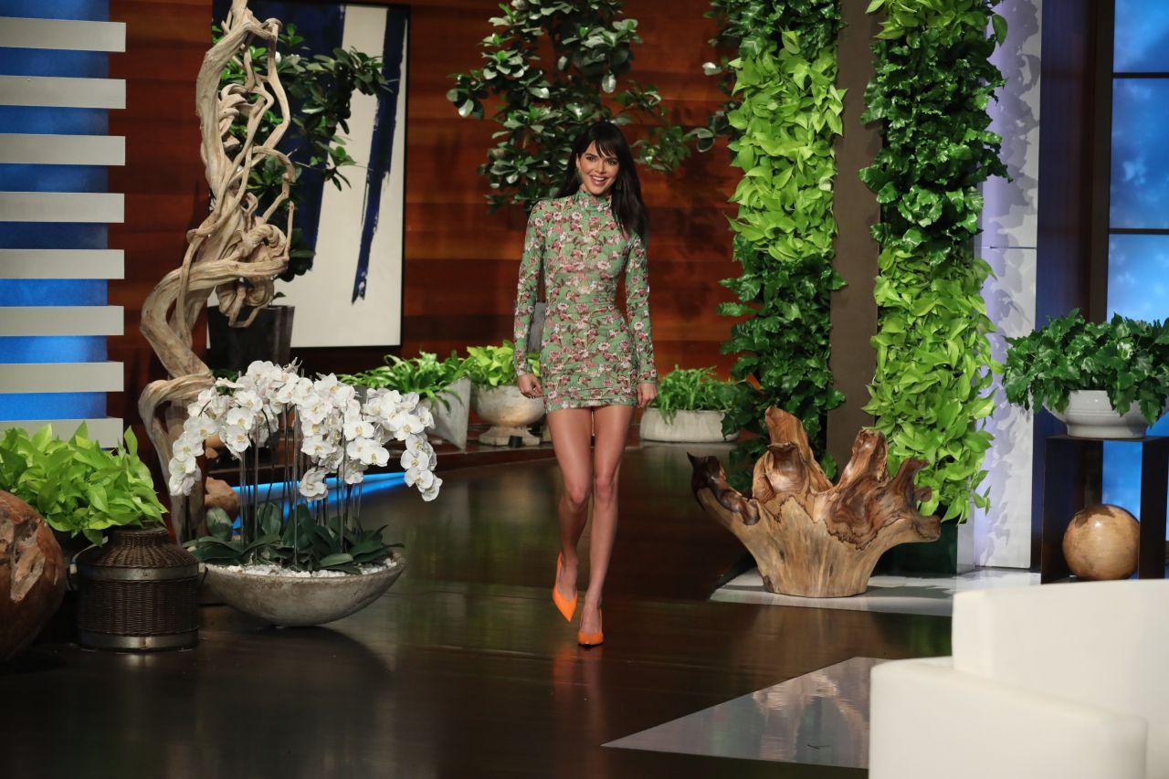 Kendall Jenner at The Ellen DeGeneres Show in Burbank - 02/08/2019