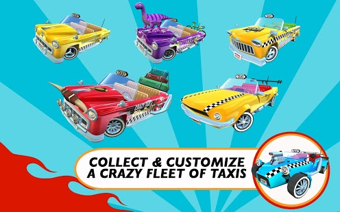 Crazy Taxi City Rush Mod Apk