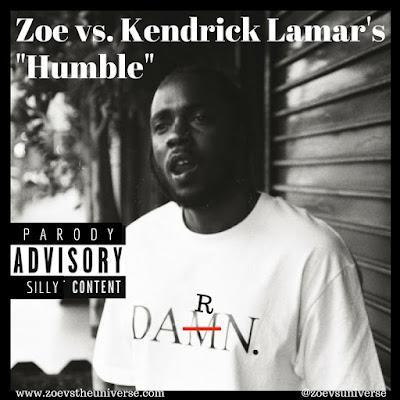 """Parody of Kendrick Lamar's """"Humble"""""""