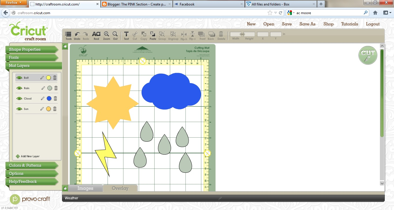 Free Cricut Craft Room: Crafting With Meek: Cricut Craft Room Weather Cut File