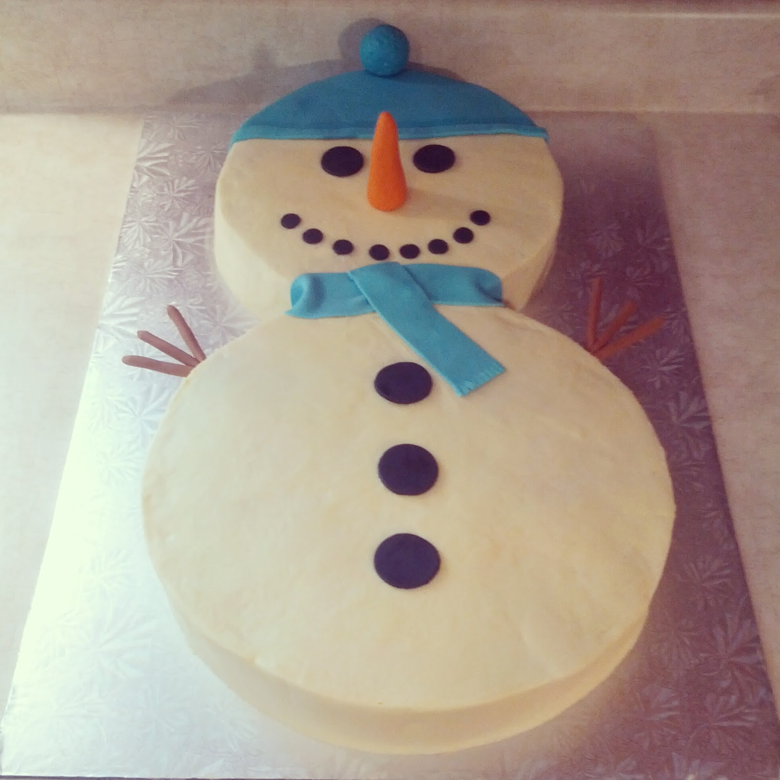 Snowman Cake Decorating Ideas