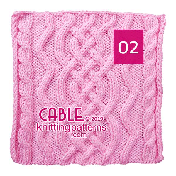 Cable Knitting Pattern 02