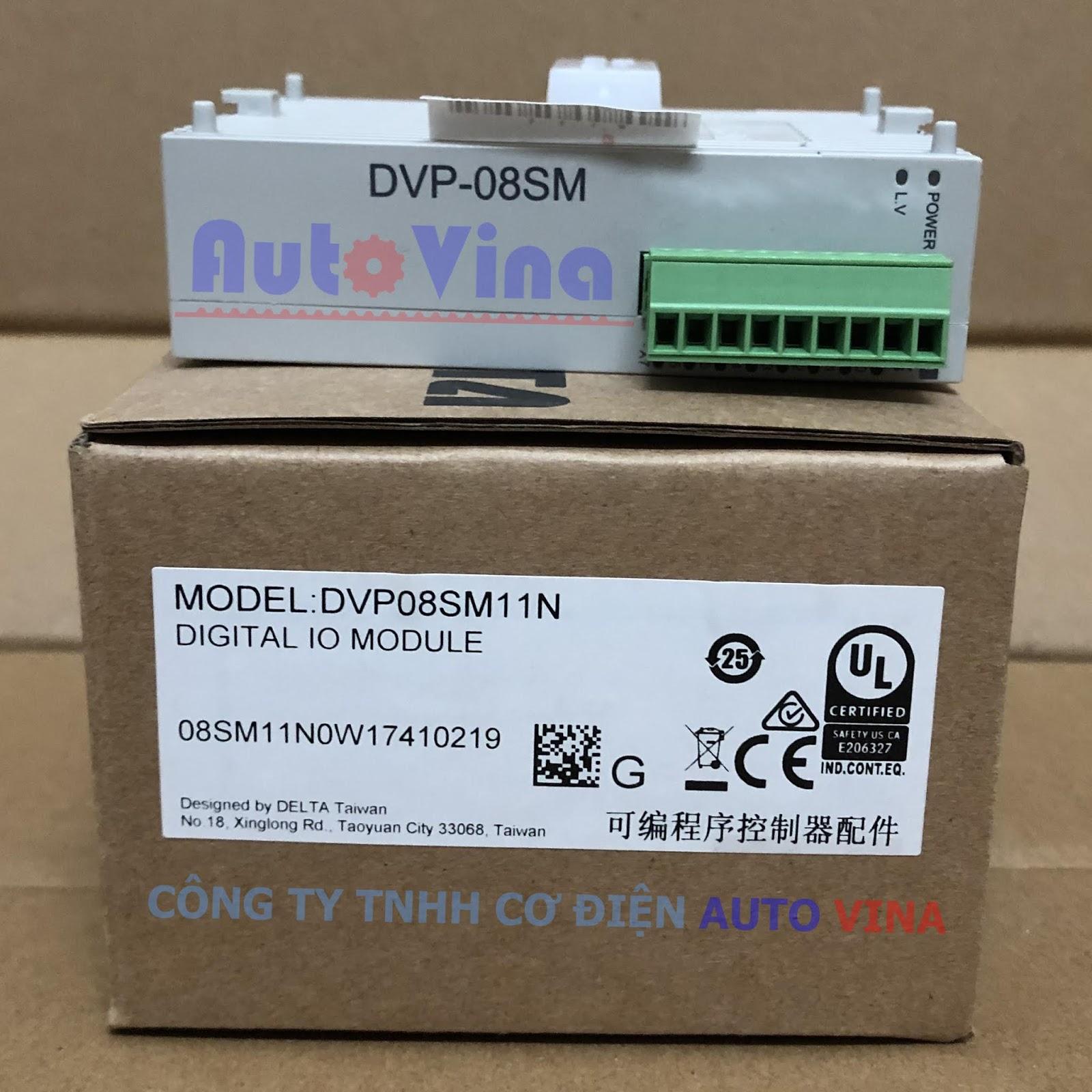 Module mở rộng 8 ngõ vào cho PLC Delta model DVP08SM11N