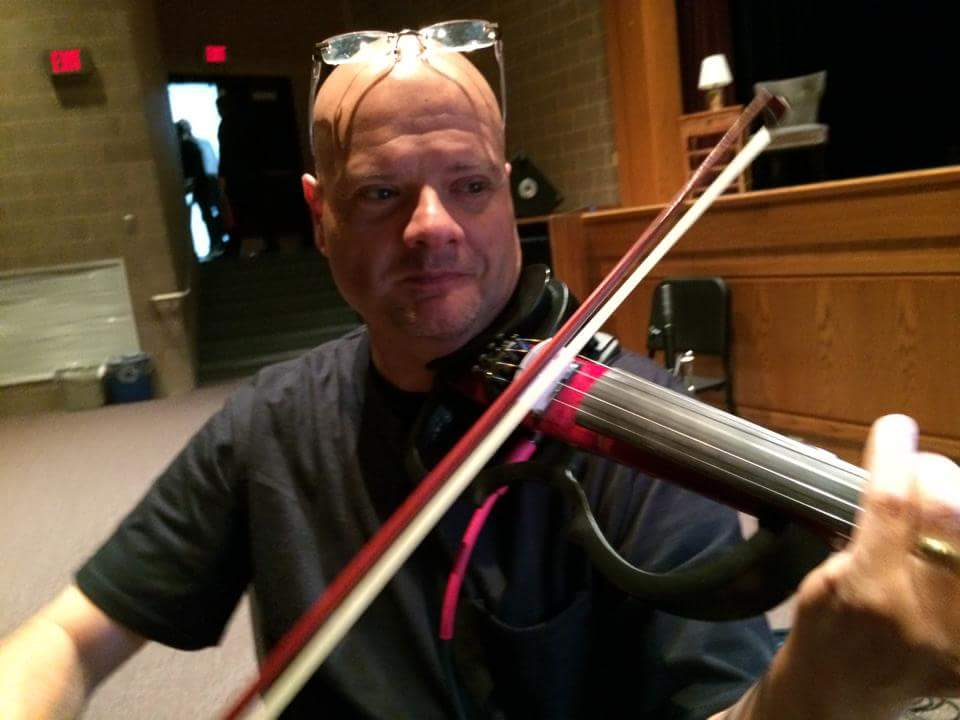 Ken Laskey, keratoconus patient, musician and teacher.