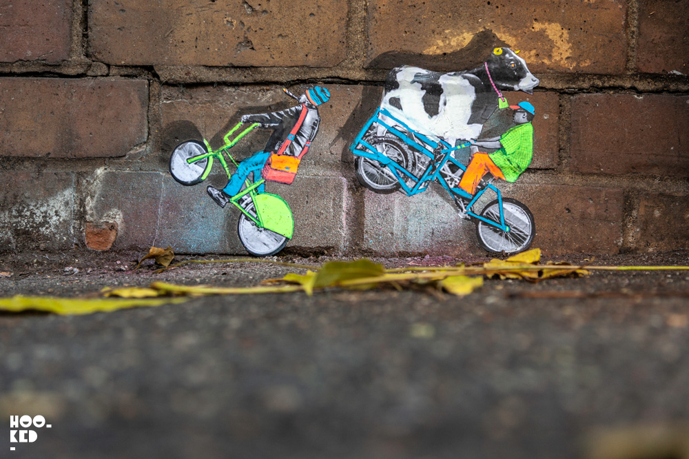 Amazing Miniature Street Art by Mexican artist Pablo Delgado