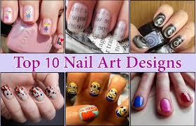 Latest nail art designe