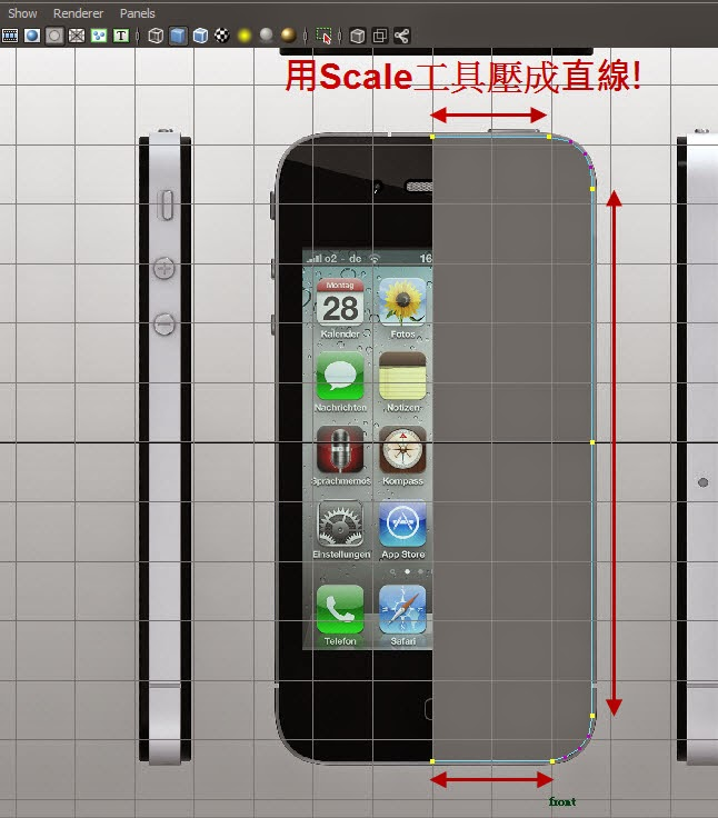 iphone Model+Map 07