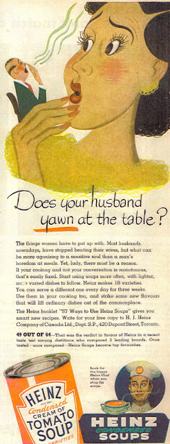Does your husband yawn at the table