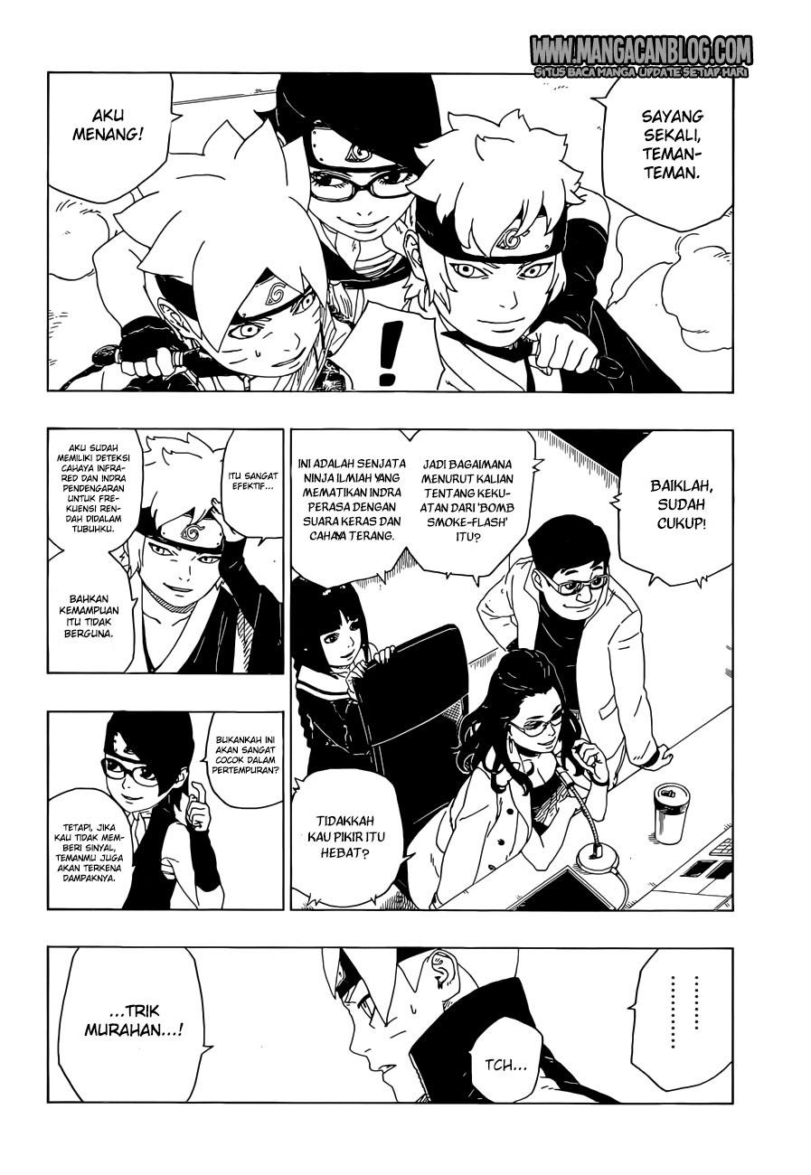 Komik Boruto Chapter 18 Bahasa Indonesia