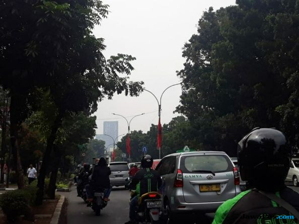 Bendera PDIP di Tiang Lampu, Gembong: Itu Dalam Rangka Ulang Tahun