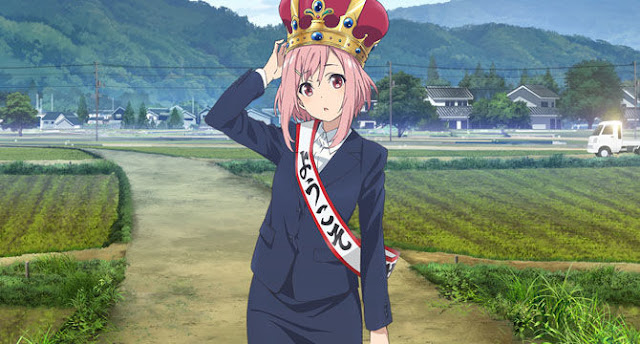 Sakura Quest anime