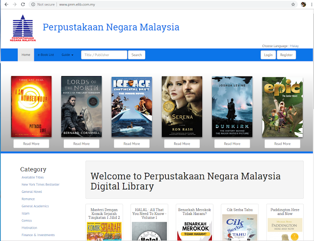 PNM e-Reader - elib ebook Portal