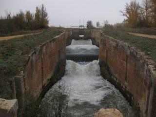 Grandes exclusas. Ramal Norte